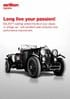 Long live your passion: BALINIT® coatings for classic or vintage cars