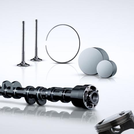 DLC coatings on camshafts and other valve train parts
