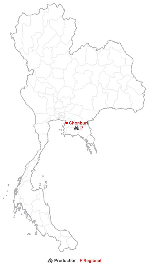 Locations Thailand Oerlikon Balzers Thailand