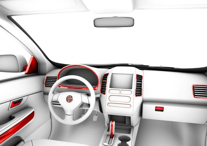 Automotive Interior: Decorative frames