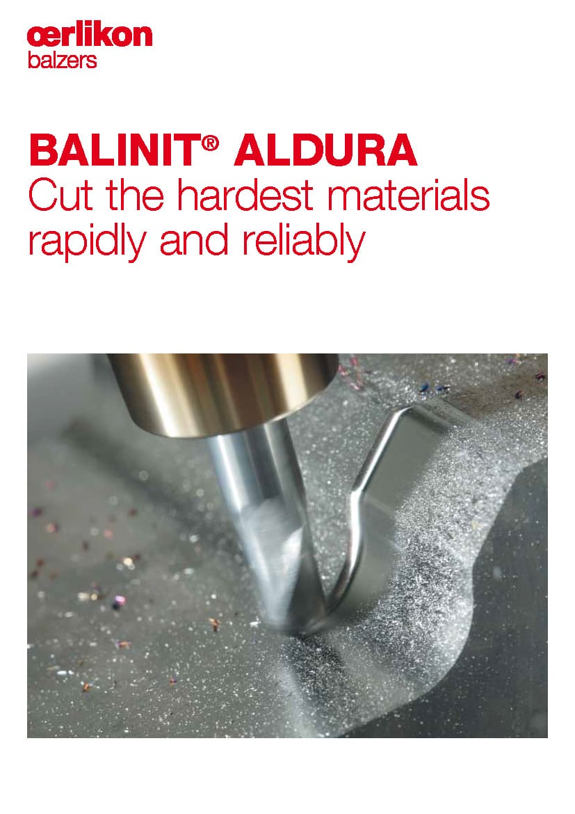 BALINIT® ALDURA - Cut the hardest materials rapidly and reliably