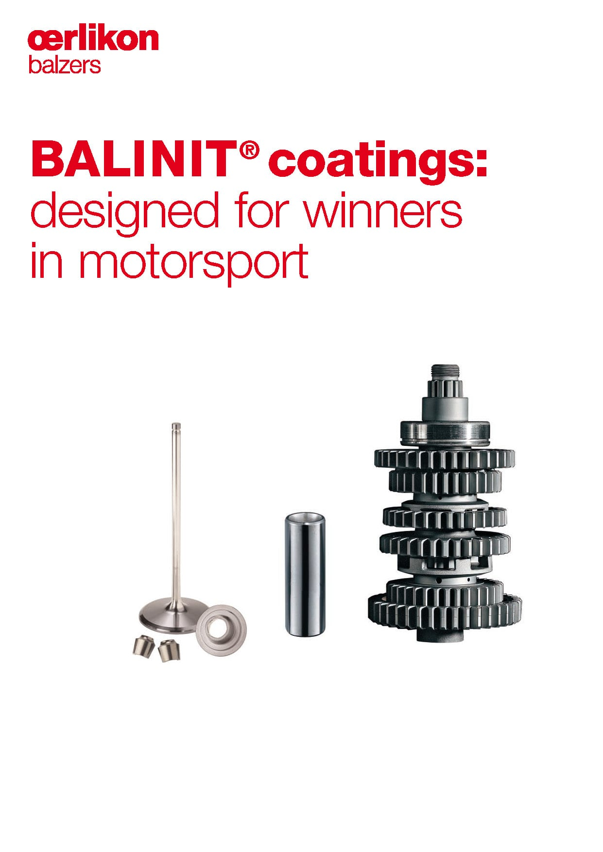 BALINIT® coatings: designed for winners in motorsport