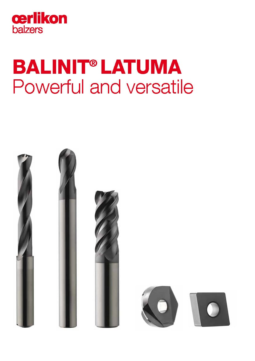 BALINT® LATUMA - The compelling solution for inserts, end mills and drills