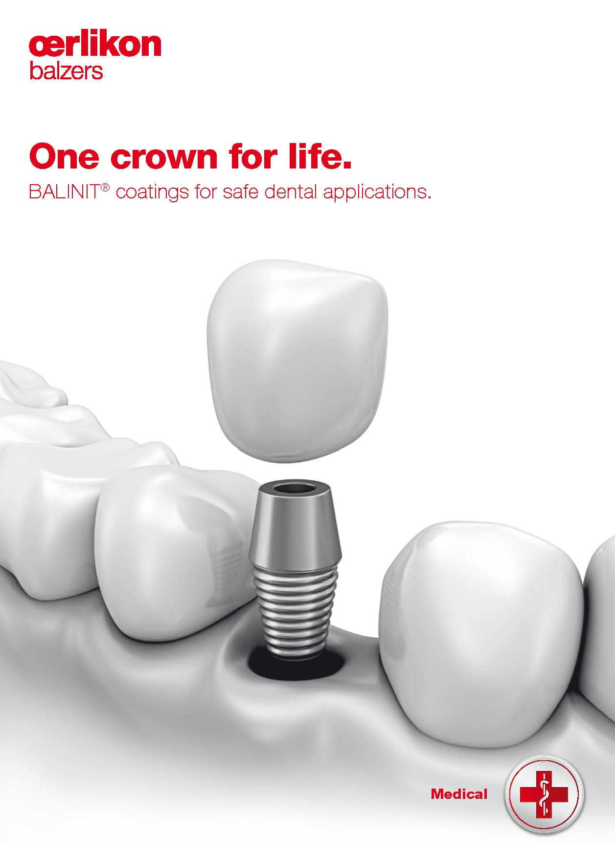 Medical Dental Screws - One crown for life