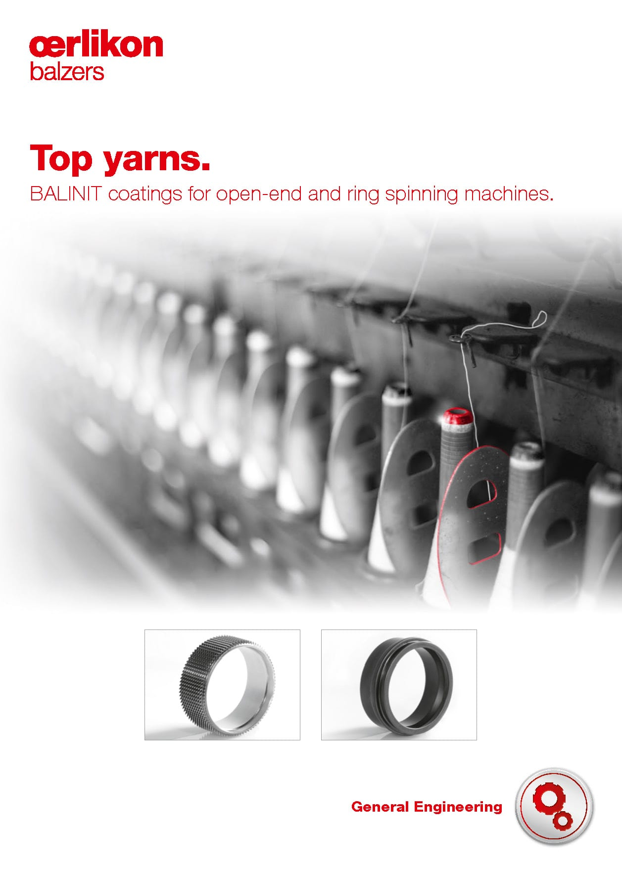 Spinning machines - Top yarns