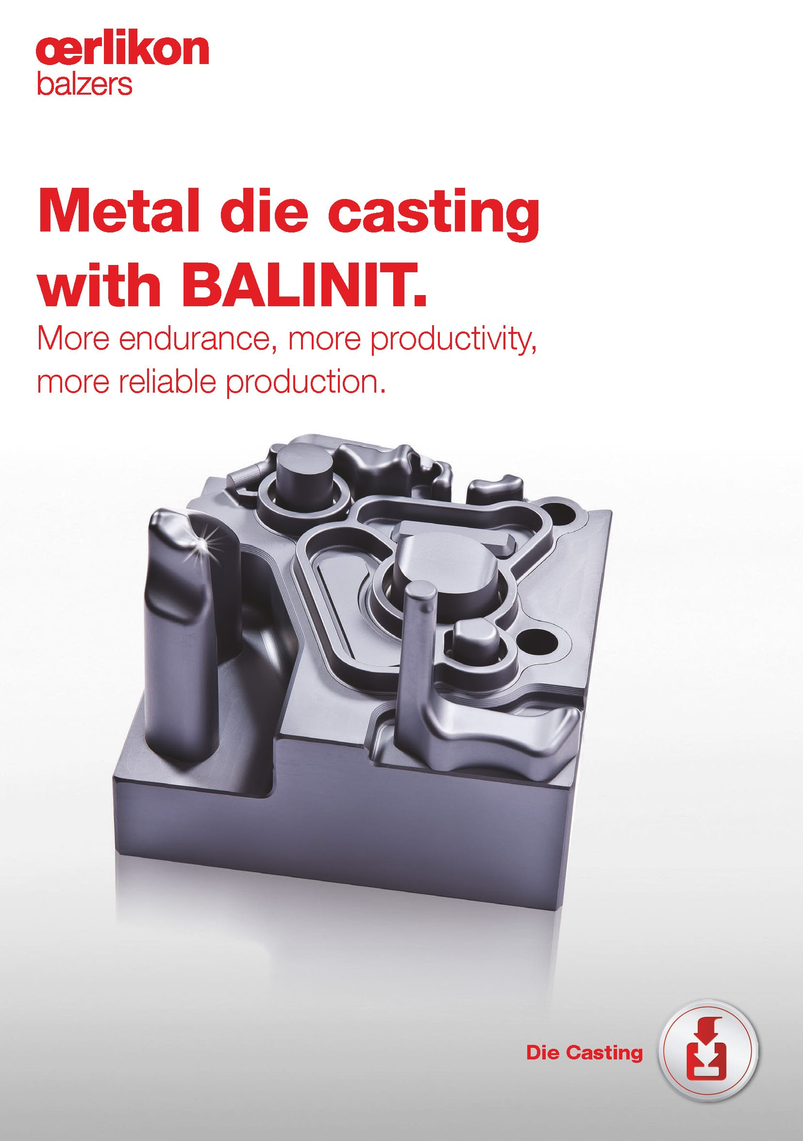Metal die casting with BALINIT