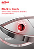 BALIQ® for Inserts - Tailored coating solutions for demanding cutting applications