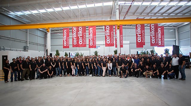 The management and the team celebrated opening and the 20th anniversary in the new premises in Querétaro, Mexico