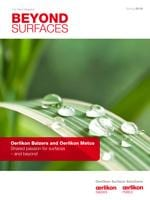 Beyond Surfaces - 1/2016 <br> The customer magazine from Oerlikon Balzers and Oerlikon Metco