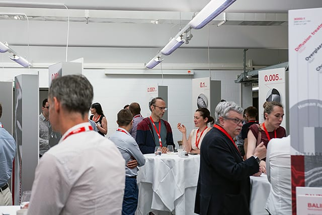 The first Oerlikon Balzers symposium attracted a great deal of interest and provoked extensive discussions