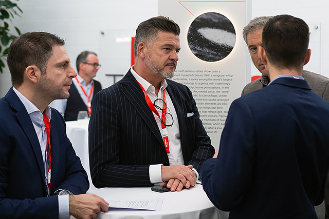 The symposium was an opportunity for decision-makers in the medical technology industry to meet for individual discussions and make new contacts.