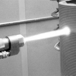 Molybdenum thermal spray coating for shaft repair from Oerlikon Metco