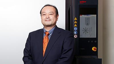 Kazuyuki Kubota from Mitsubishi Hitachi Tool Engineering