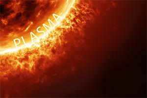 How is plasma formed?