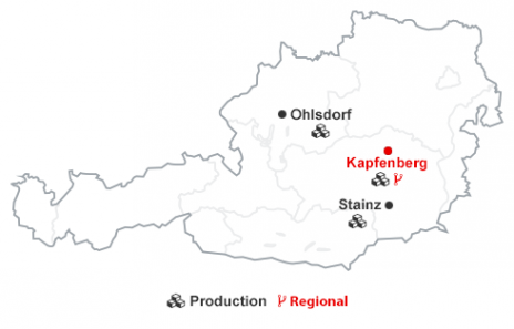 Locations austria oerlikon balzers austria your contacts in austria gumiabroncs Gallery