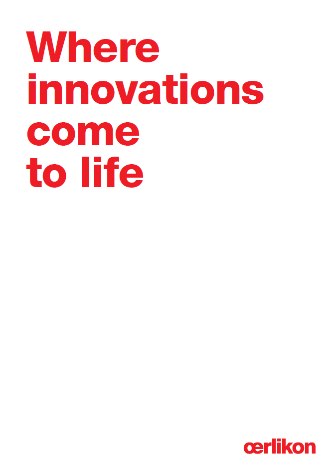Oerlikon Corporate Brochure