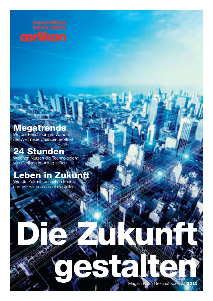 Annual Report Magazine 2012 (German Version)