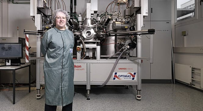 Vacuum system advances world-class research