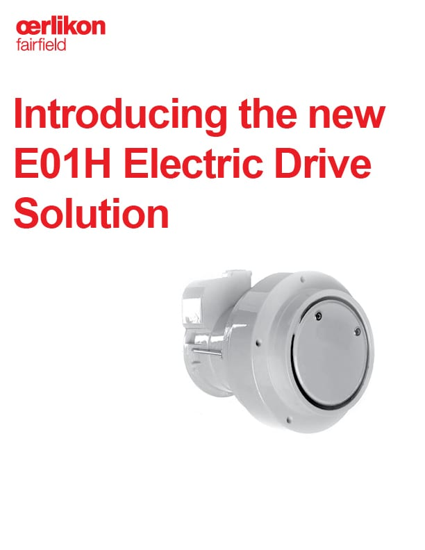E01H Electric Drive Brochure - English