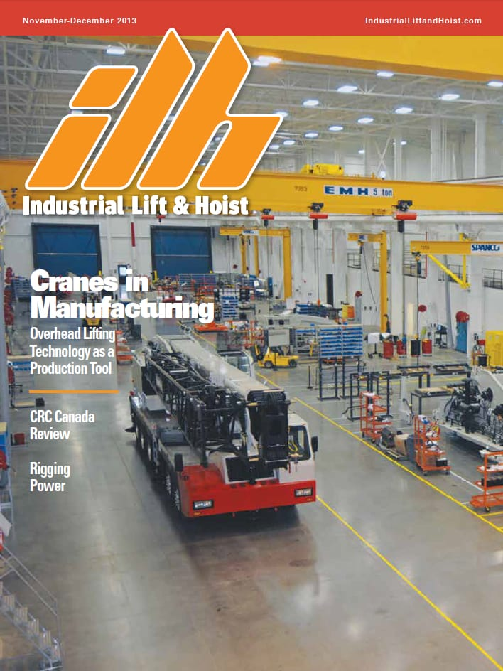 Industrial Lift & Hoist (Nov/Dec 2013) -