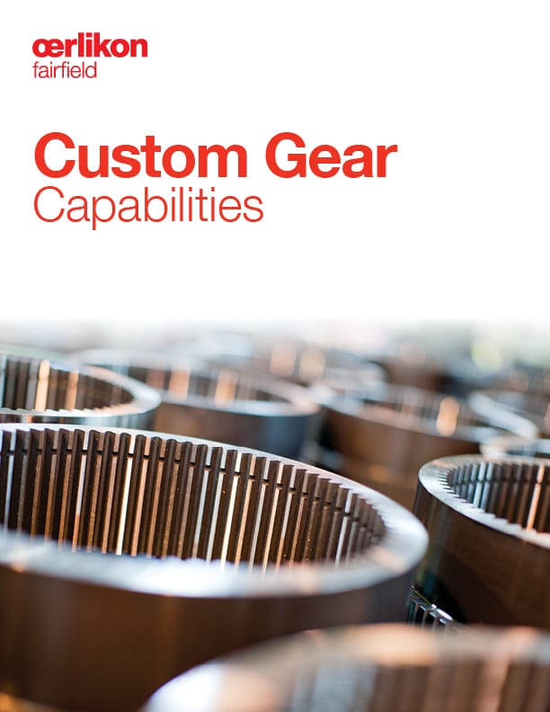 Custom Gears Brochure - English