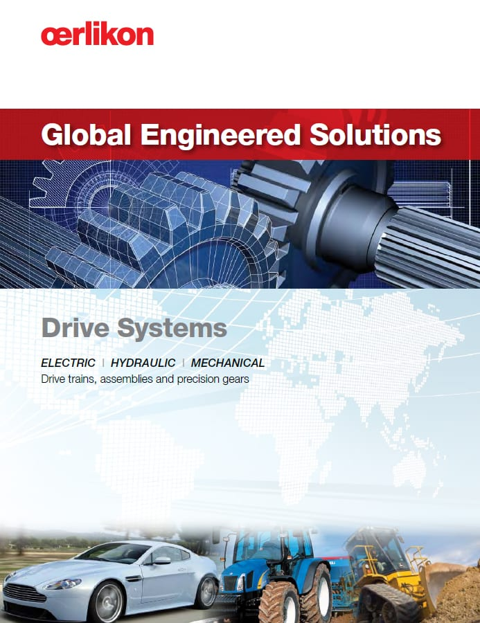 Oerlikon Drive Systems Capabilities Brochure - English