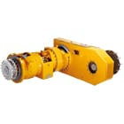 Axles for construction equipment