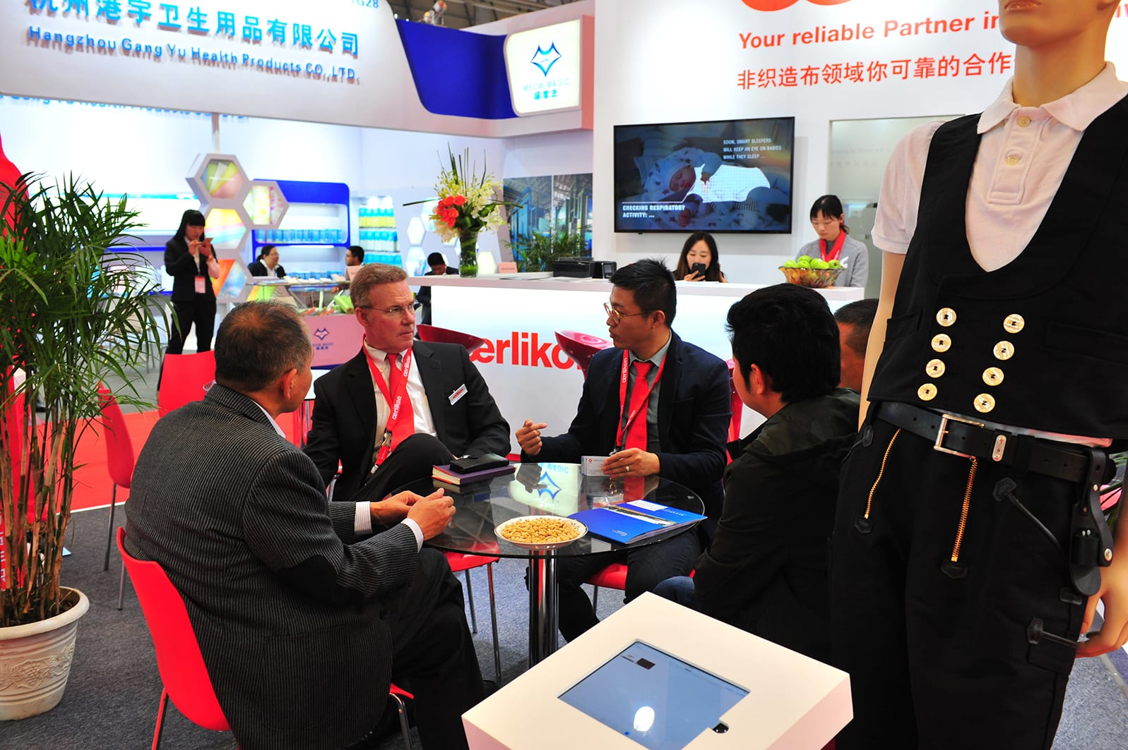 The Oerlikon group's nonwoven business unit presented itself successfully in China