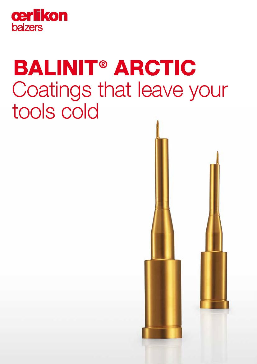 BALINIT® ARCTIC, Coatings that leave your tools cold