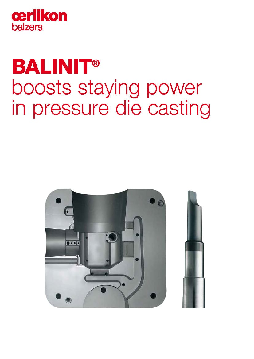BALINIT® boosts staying power in pressure die casting