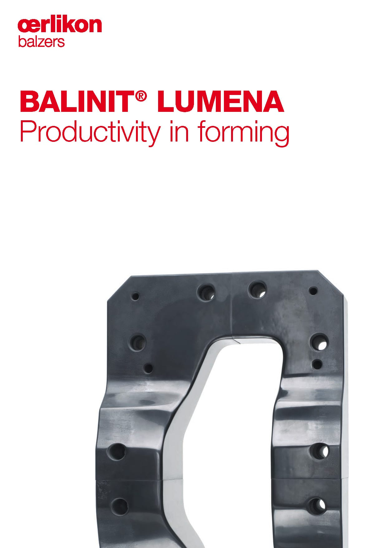 BALINIT® LUMENA, Productivity in forming