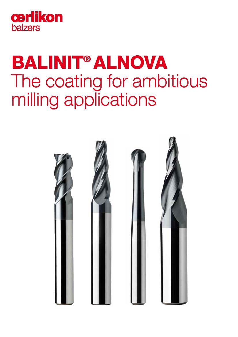 BALINIT® ALNOVA - The coating for ambitious milling applications