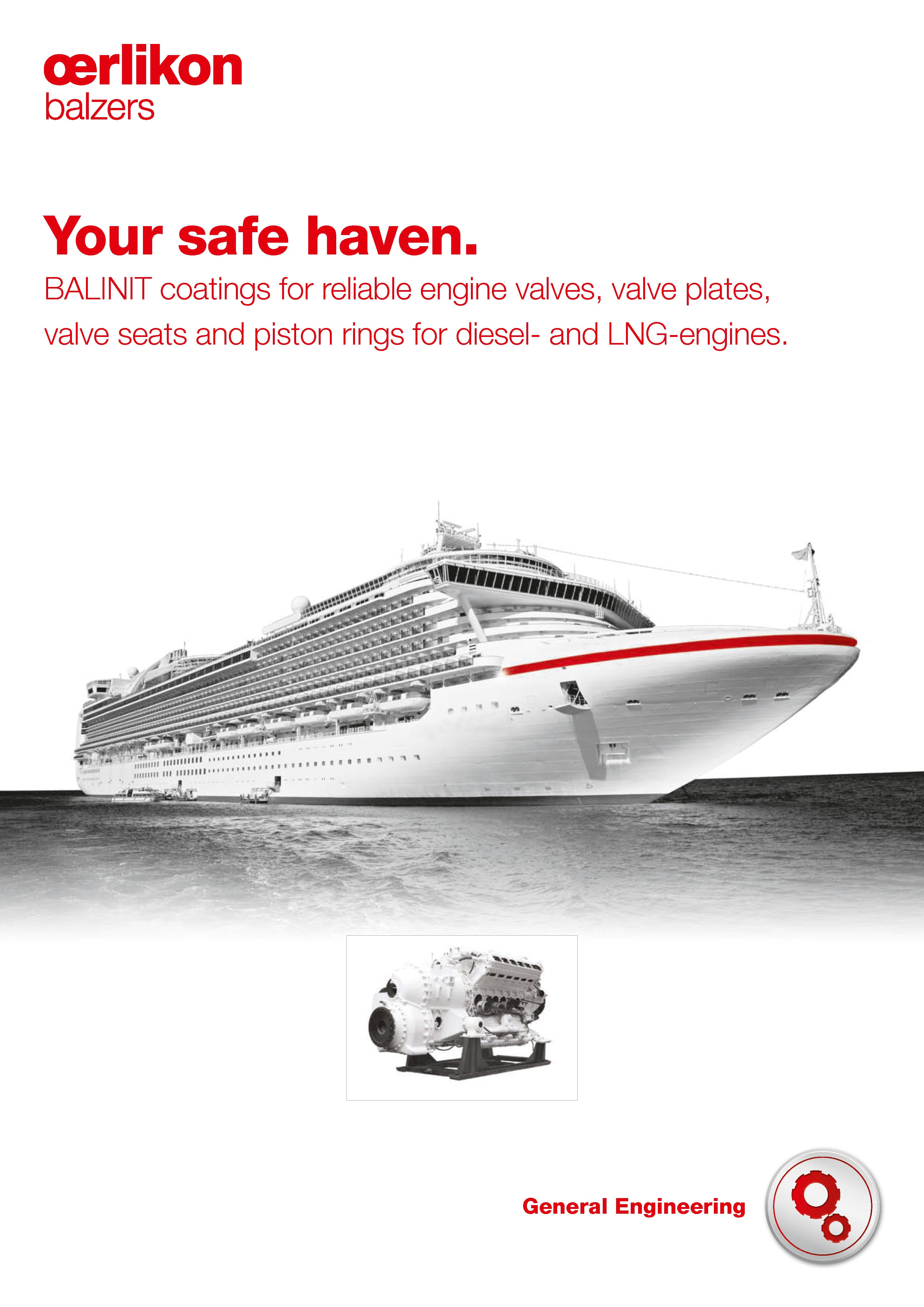 Ship engines - Your safe haven