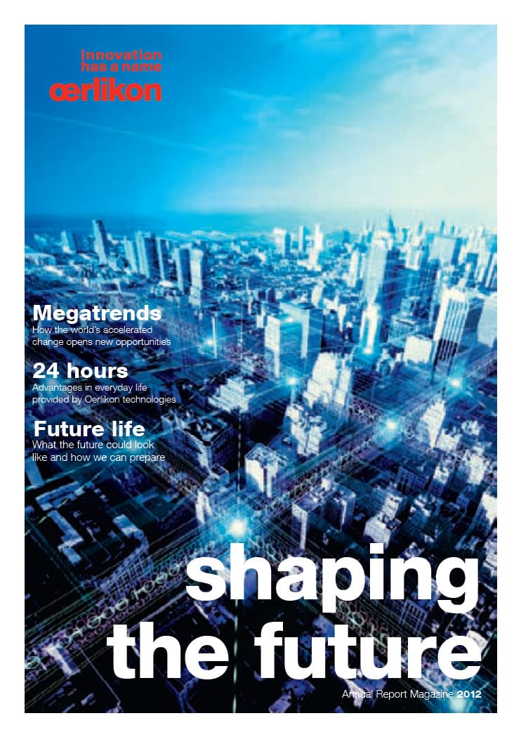 Annual Report Magazine 2012