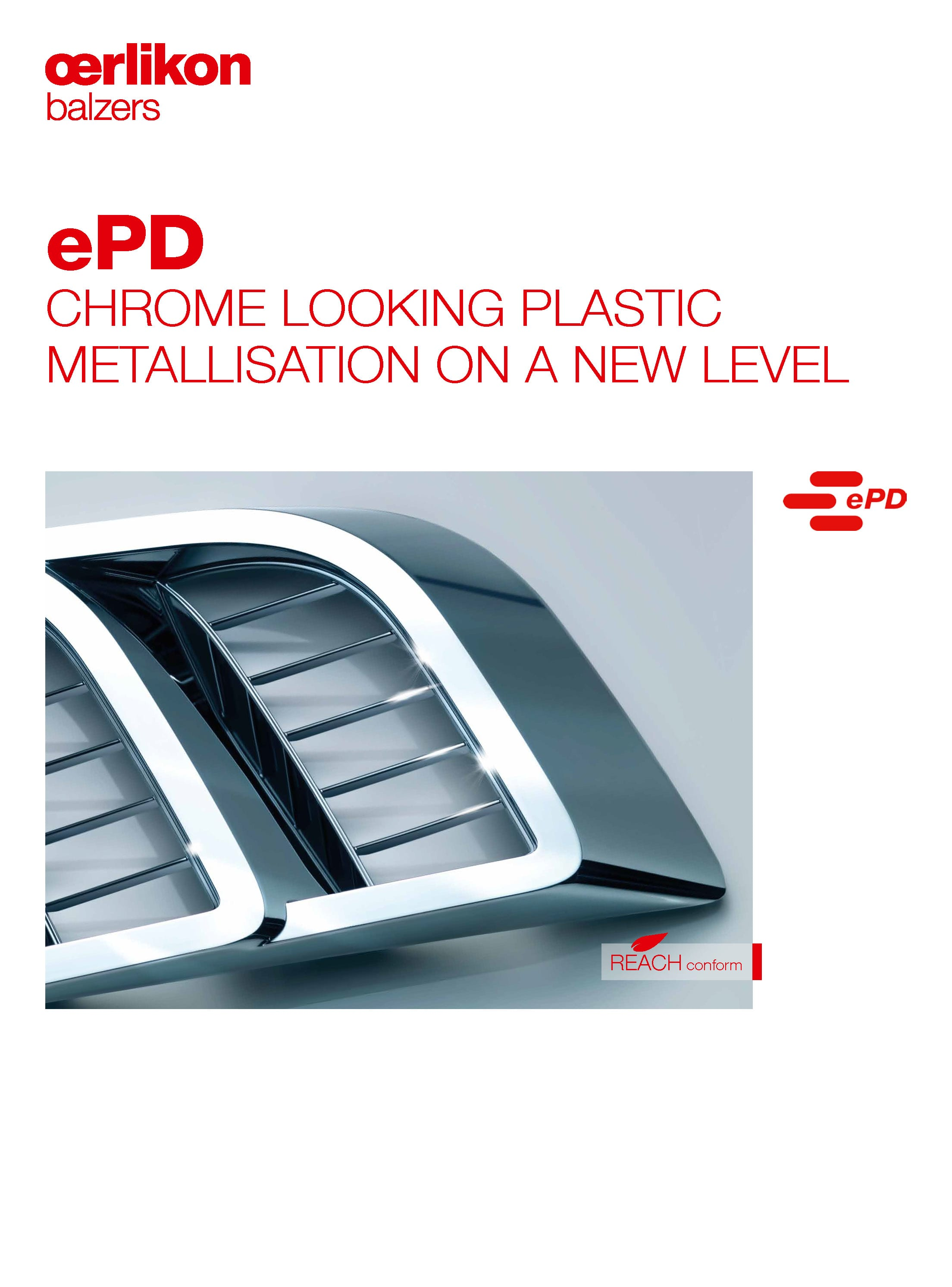 ePD - embedded PVD for Design Parts