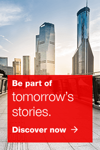 Be part of tomorrow's stories.