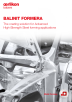 BALINIT<sup>®</sup> FORMERA - for Advanced High-Strength Steel forming applications