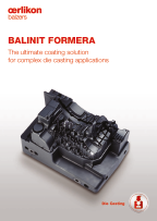 BALINIT FORMERA - The ultimate coating solution for complex die casting applications
