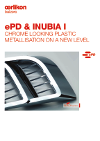 INUBIA I & ePD (ePD - embedded PVD for Design Parts)