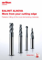 BALINIT<sup>®</sup> ALNOVA - Reliable milling of the most demanding materials