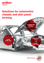 Solutions for automotive chassis and skin panel forming