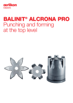 BALINIT<sup>®</sup> ALCRONA PRO - Punching and forming at the top level
