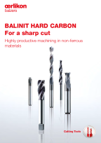 BALINIT<sup>®</sup> HARD CARBON - Highly productive machining in non-ferrous metals