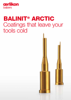 BALINIT<sup>®</sup> ARCTIC Series - Coatings that leave your tools cold