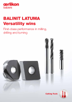 BALINIT<sup>®</sup> LATUMA - First-class performance in milling, drilling and turning