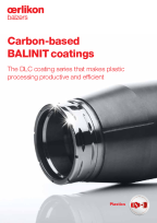 BALINIT<sup>®</sup> DLC coating series - Carbon-based coatings