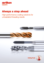 Always a step ahead - High-performance coating solutions for unbeatable threading results