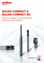 BALDIA<sup>®</sup> COMPACT & BALDIA<sup>®</sup> COMPACT DC - Diamond coatings for machining highly abrasive powder materials