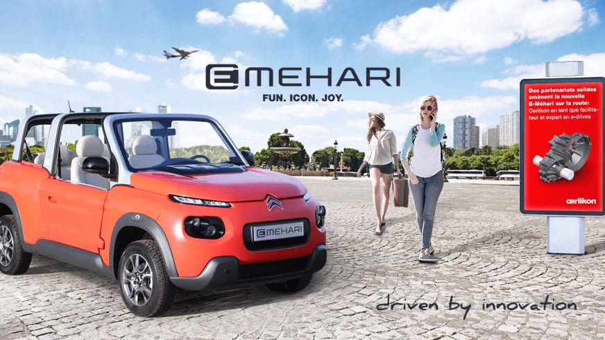 Citroën E-Méhari - Fun. Icon. Joy. - driven by innovation